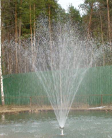 Насадка фонтанная HQ-T-120, Vulcan, вулкан, до 4м высота, 2'' НР
