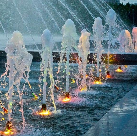 Светильник для фонтана