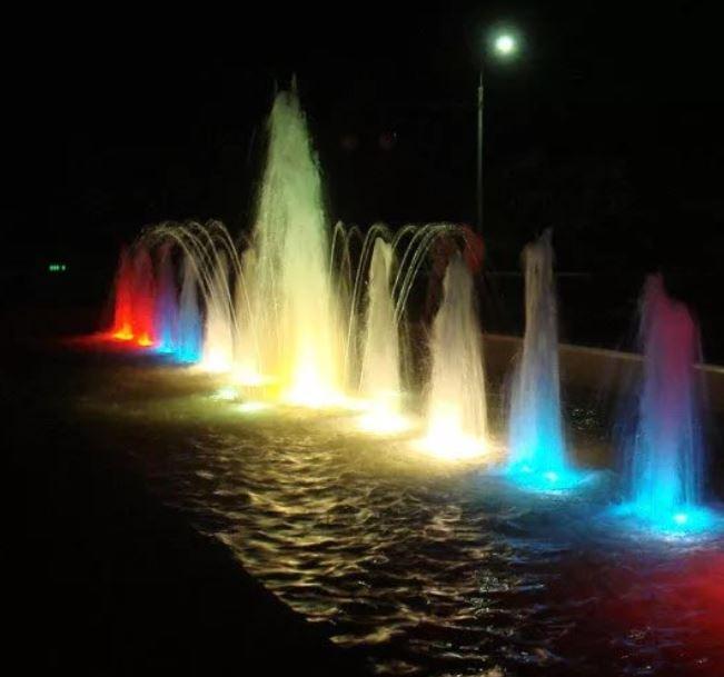 Светильник для фонтана и пруда LED HQ-SB12M, 12вт, 24в, 0,5 м кабель, разноцветная, светодиодная