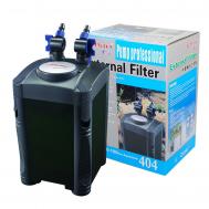 Фильтр аквариумный 404 Plus, для аквариумов 200-500л, насос 1500л/ч, 20вт
