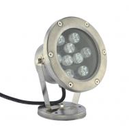 Светильник для фонтана и пруда LED HQ-S09WW, 24в, 0,5 м кабель, прудовая, белая