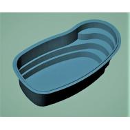 Бассейн-пруд пластиковый