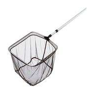 Сачек для пруда F600020A, 50*50см с телескопической рукояткой 1,4-2,5м, ячейка 3мм