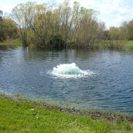 Плавающие фонтан - аэратор 3400EAF