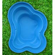 Пруд пластиковый 2300 литров синий