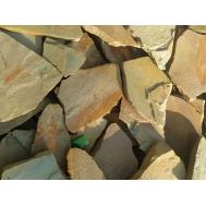 Песчаник желто-рыжий 2-3,5см