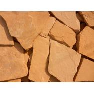 Песчаник желто-рыжий 5-6,5см