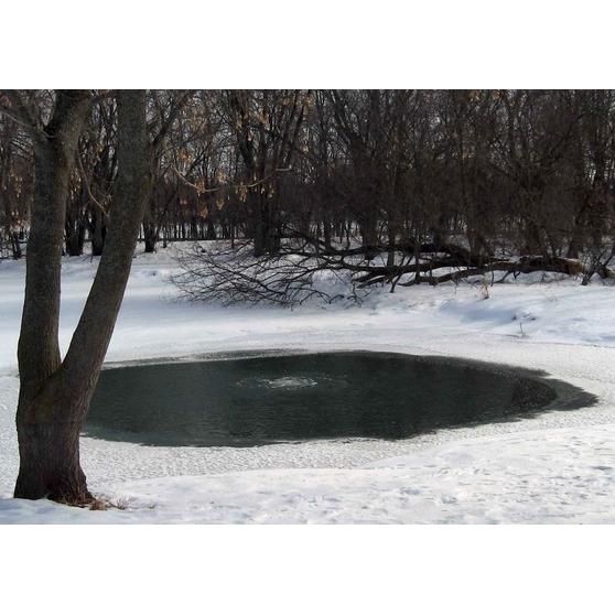 Аэратор для зимовки пруда