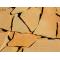 Песчаник желто-рыжий 3-4,5см