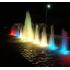 Светильник для фонтана и пруда LED HQ-SB06 DMX, 6вт, 24в, 0,5 м кабель, разноцветная, светодиодная, управляемая пультом ДУ