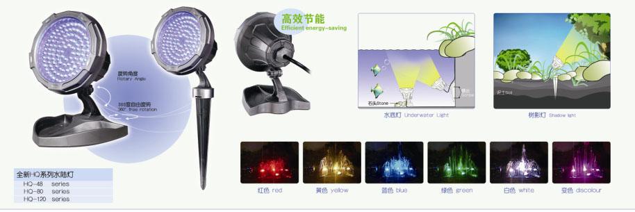 Подсветка для водоема